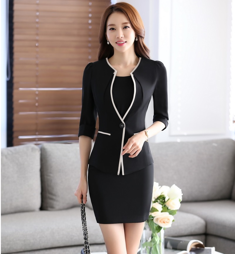 Compare Prices on Women Business Dress Jacket Suits for Office ...