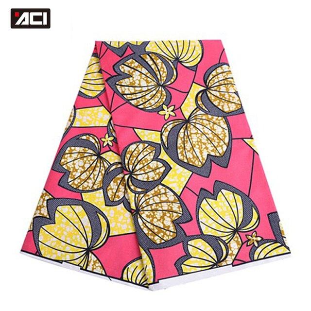 ACI Super Hollandais Wax High Quality Super Wax Hollandais 2018 Dutch Wax African Wax Hollandais Hot Sale Design For Women Dress 5