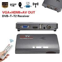 Digital HDMI DVB T T2 Dvbt2 TV Box Receiver VGA AV CVBS TV Receiver Converter With
