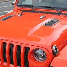 Welkinry для jeep wrangler jl 2018 Автомобильная головка капота