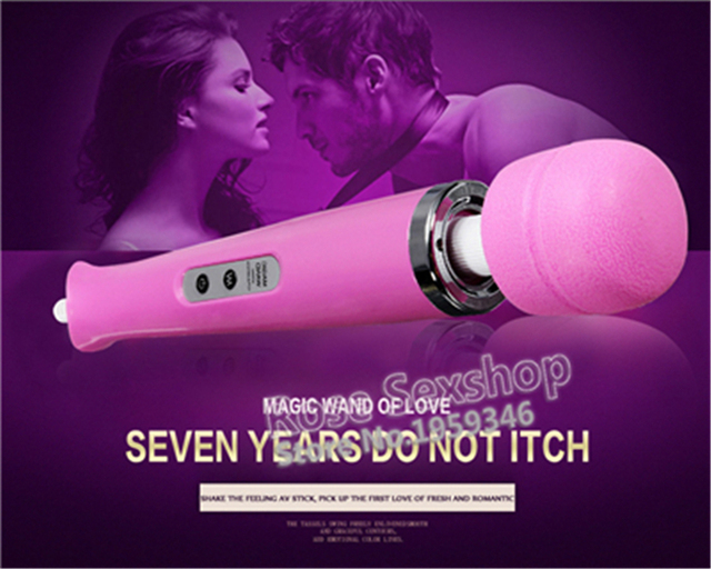 USA Portable AV Stick Vibrator Luoge High Quality  Vibrating Massager