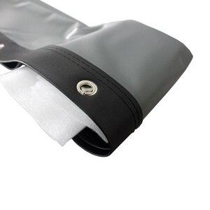 Image 5 - Yovanxer HD הקרנה אחורית מסך מיוחד רך PVC עבור כל מקרן קולנוע ביתי חיצוני מסכי 16:9/4:3 אופציונלי