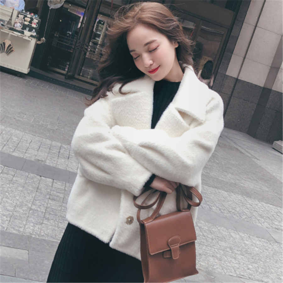 D'eau Supérieure Velours Ins Veste Manteau Qualité Vêtements Milky Coton Court Femmes Imitation Réel 2019 Tir Décontracté De Nouvelle Mode z0Rvqp