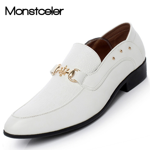 chaussure blanche homme mariage pas cher