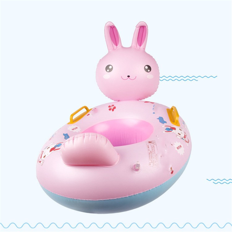 iEndyCn 2017 Baby Thickened Swimming Ring Animal Rabbit Swim Ring Swimming Pool Accessories GXY196