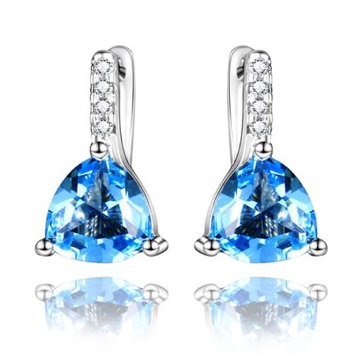 DV Jewels Rainbow moonstone Gemstone Dangle Earring
