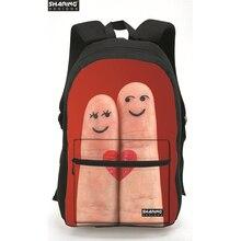 Модные 3D Bling большие глаза женщины рюкзак красные, черные рюкзаки для девочек-подростков школьные рюкзаки Mochila Bolsas femininas