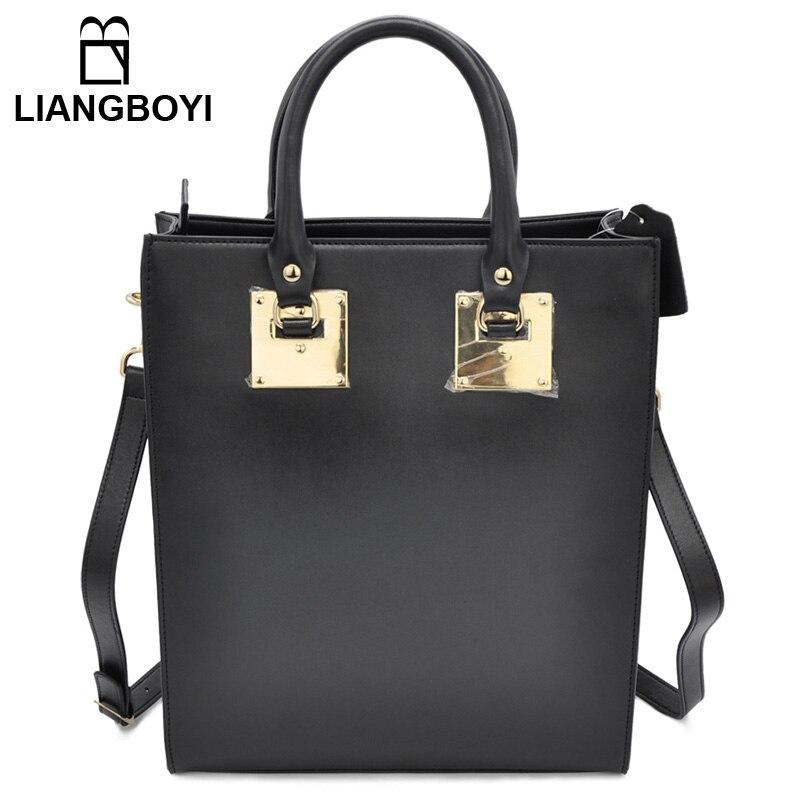 ФОТО LBY Women Genuine Leather Bag Shoulder Bag Handbag Messenger Bag Famous Designer Brand Metal European And American Fashion