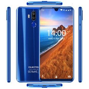 "Image 3 - OUKITEL K9 Waterdrop 7.12 ""FHD + affichage 16MP téléphone portable 4 GB 64 GB identification de visage Smartphone 6000 mAh 5 V/6A Charge rapide OTG double SIM"