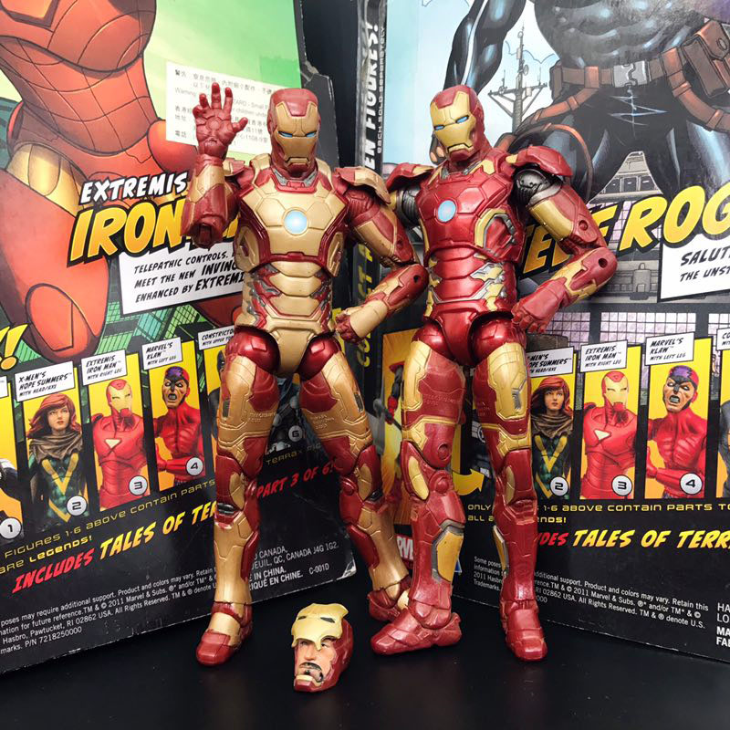 Marvel Legends Iron Man MK 43 Armor Age of Ultron Avengers Action Figure Loose