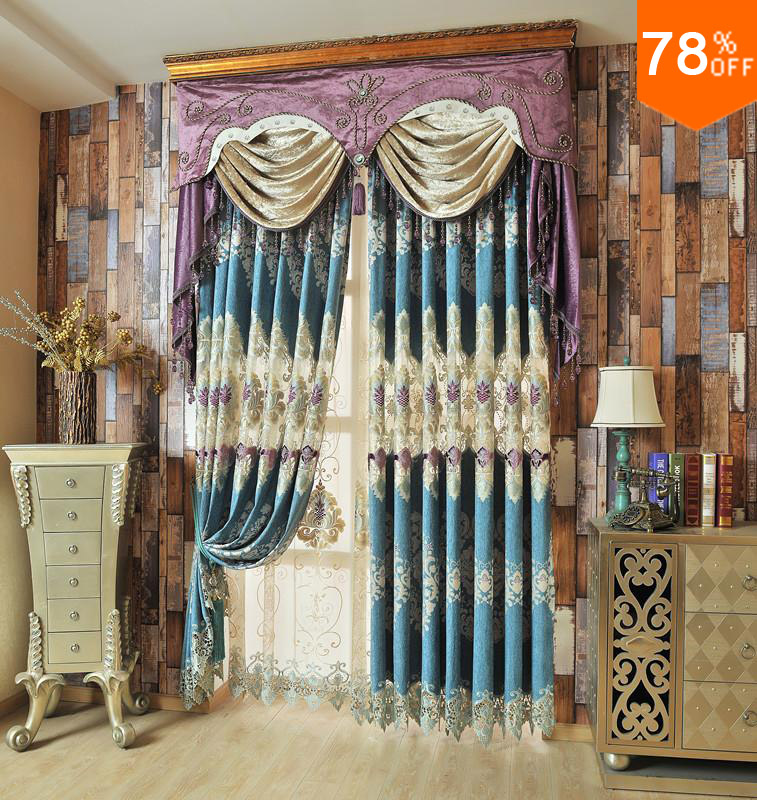 Popular turquoise living rooms buy cheap turquoise living - Turquoise curtains for living room ...