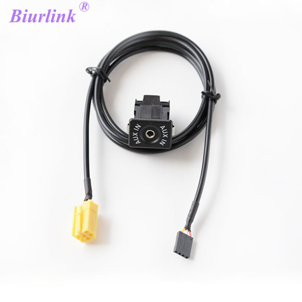 Mini Iso 6 Pin Usb Cable Adapter For Fiat Grande Punto In Cables Fuse Box Biurlink Diy 6pin Plug To 35mm Jack Aux Audio Kit