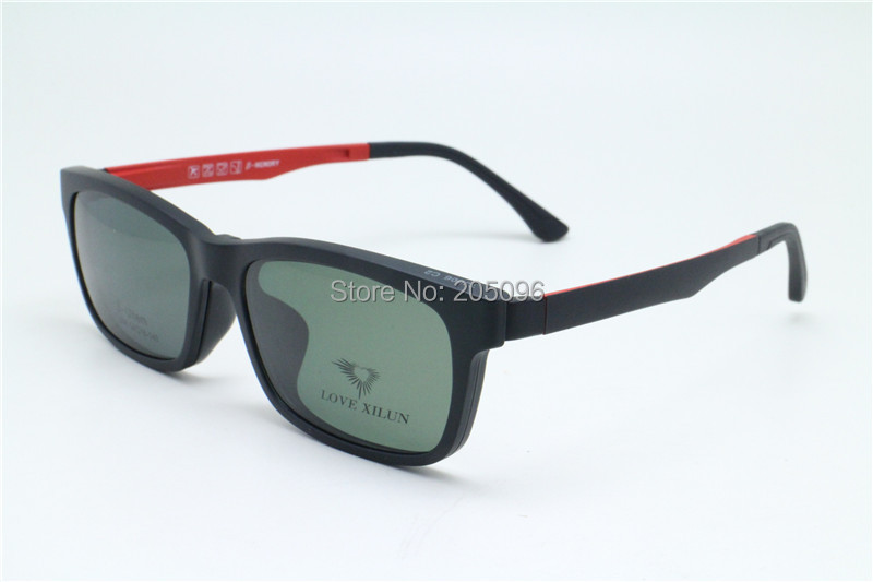 foster grant solar shield clip on polarized sungles 54