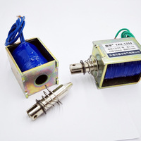 Wholesale JF 1250B Force 60N Travel 10mm DC12V 360mA Pull Type Linear Solenoid Electromagnet With Screw