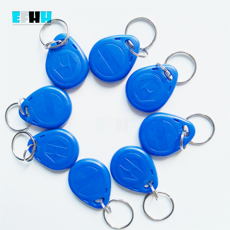 Image 2 - 125Khz EM4305/EM4205 Rewritable RFID Keyfobs Key Tags Copy Clone Blank Card In Access Control Card-in IC/ID Card from Security & Protection