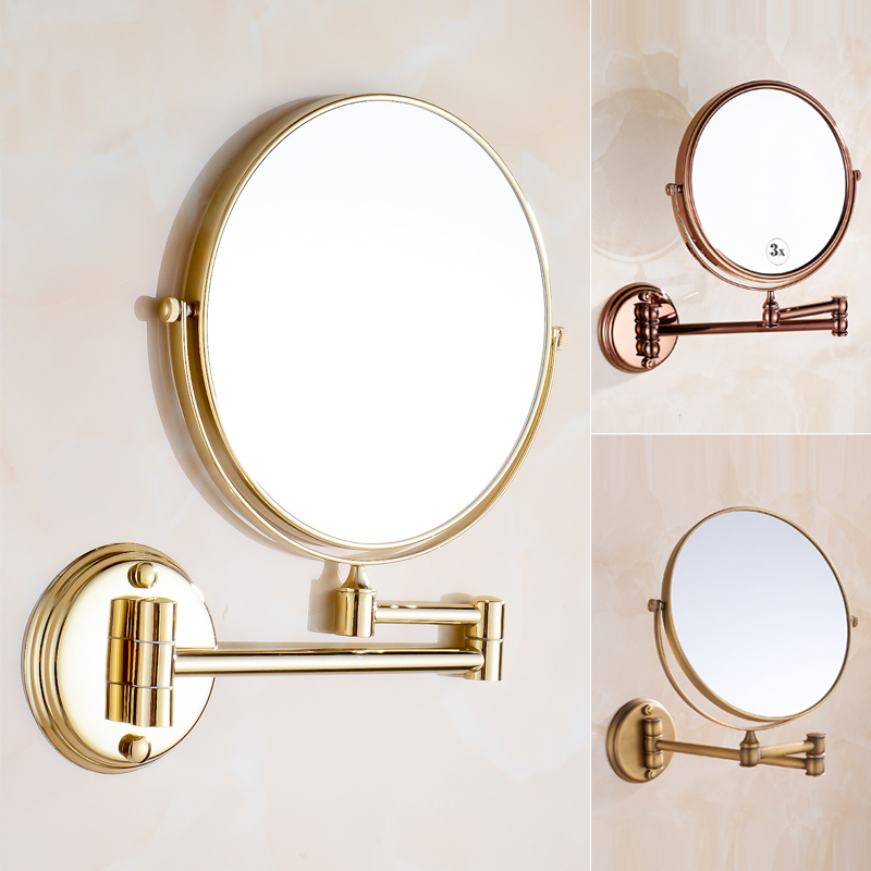 Fashionable Design Hot Sale Bathroom Makeup Mirror Multiple Colors Wall Mounted fashionable design hot sale bathroom makeup mirror multiple colors wall mounted