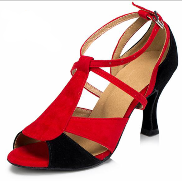 HXYOO Women Dance font b Shoes b font for Latin Ballroom font b Salsa b font
