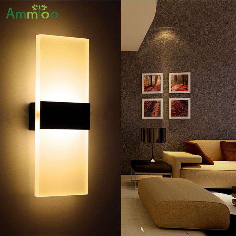 Modern Led Wall Light Lamp Indoor Wall Mounted Sconce ...