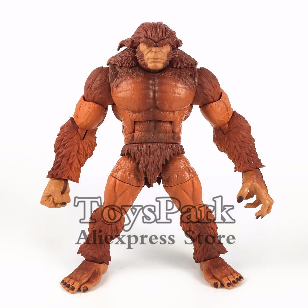 ToysPark Marvel Legends Series Sasquatch Build A Action Figure Complete From 2018 Deadpool BAF Wave Collectible Doll Model Loose airhole маска airhole standard sasquatch