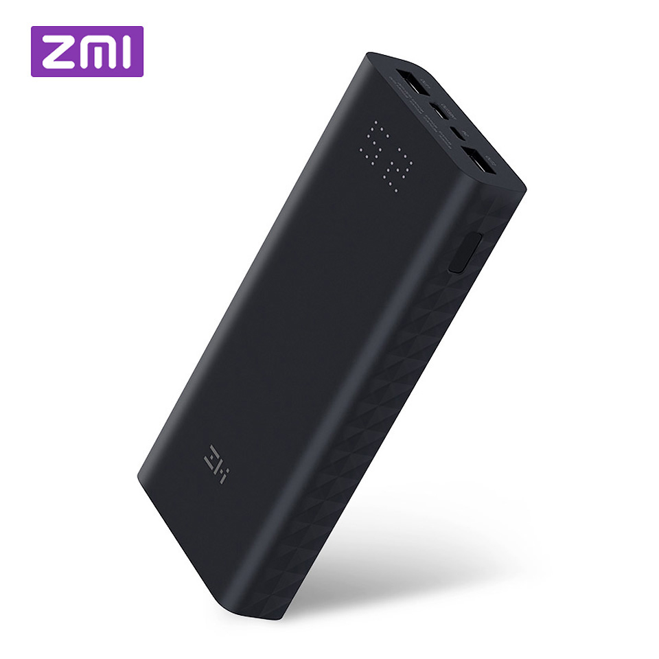 Xiaomi ZMI batterie externe 20000 mah 15000 mAh USB PD batterie externe moyeu de Charge portable QC 3.0 chargeur de Charge 18650 Powerbank