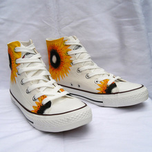Hand Painted Flat Shoes