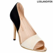 62fe472664c6 Womens Fashion Handmade 100mm High Heel Open-toe Large Size Party Office  Pumps Shoes XD088