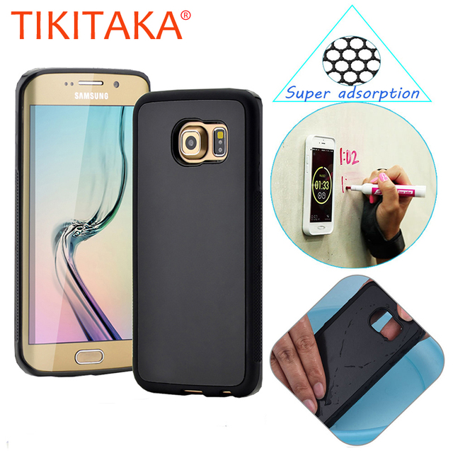 new styles b31aa d0b7e US $3.7 |Anti Gravity Phone Cases For Samsung Galaxy S4 S5 S6 S7 Edge Plus  Note 5 Case Anti gravity Antigravity Nano Suction Cover Shell-in Fitted ...