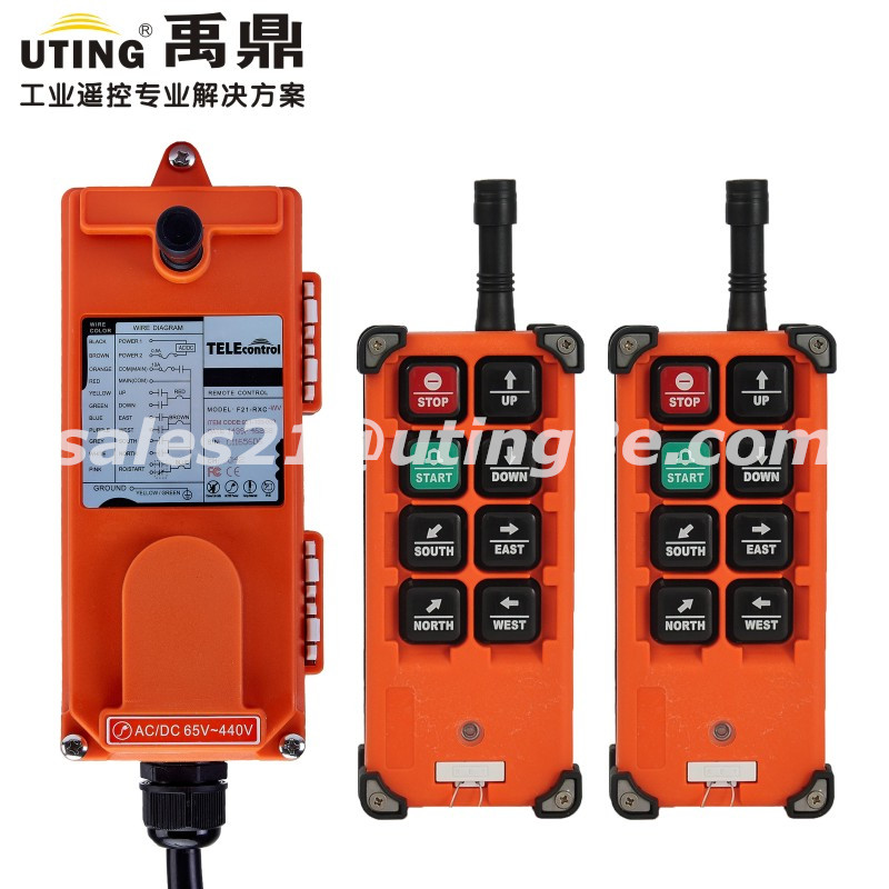 Telecontrol F21-E1B  universal industrial nice wireless remote control distaance for crane AC/DC 2transmitter and 1receiver запонка arcadio rossi запонки со смолой 2 b 1026 20 e