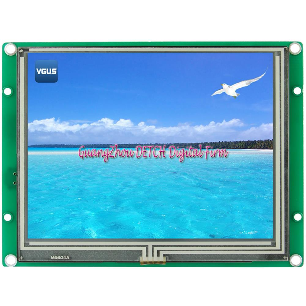 SDWe056C17N Wuhan in the 5.6 inch serial configuration LCD screen non touch human-computer interface