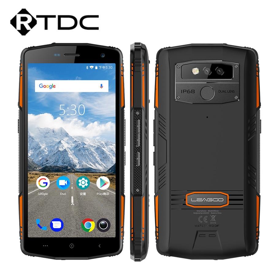 "LEAGOO XRover Android 8.1 IP68 4G โทรศัพท์มือถือ Face ลายนิ้วมือปลดล็อก 5.72 ""IPS Octa Core 6 + 128 GB quick charge 5000 mAh OTG โทรศัพท์-ใน โทรศัพท์มือถือ จาก โทรศัพท์มือถือและการสื่อสารระยะไกล บน AliExpress - 11.11_สิบเอ็ด สิบเอ็ดวันคนโสด 1"