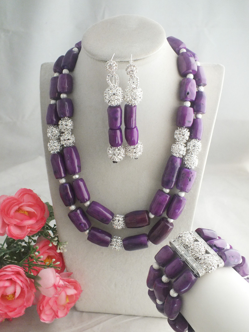 Online Get Cheap Purple Coral Jewelry Set -Aliexpress.com ...
