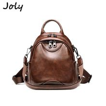 Functional Fashion Women Backpack High Quality PU Leather Backpacks for Teenage Girls Female Shoulder Tote Bag Bagpack Mochila