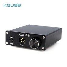 KGUSS HA6 chip TPA3116D2 HIFI stereo desktop small high power digital headphone amplifier