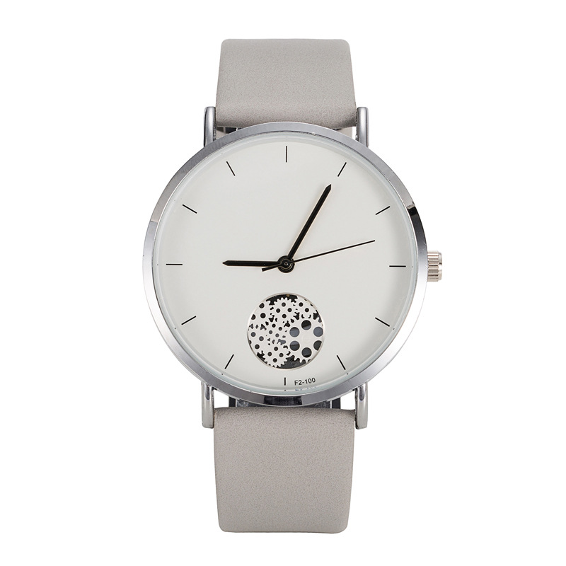 Ladies Creative Hollow dial Watches unisex Fashion leather Casual watch Men Women Quartz Wristwatch Simple Leather Women Clock fashion leather watches for women analog watches elegant casual major wristwatch clock small dial mini hot sale wholesale