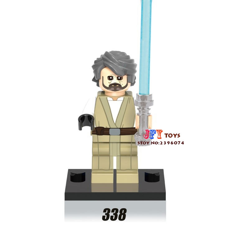 Single star wars super heroes marvel old luke skywalker building blocks models bricks toys for children kits brinquedos menino building blocks agent uma thurman peeta dc marvel super hero star wars action bricks dolls kids diy toys hobbies kl069 figures