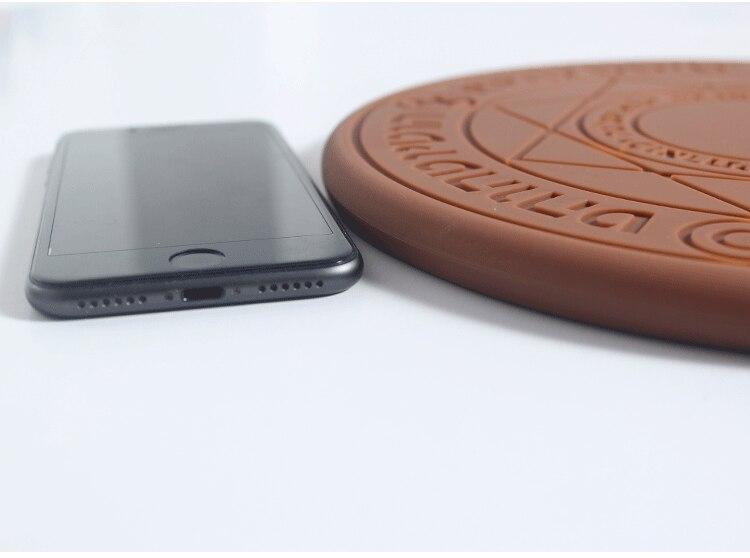 5 w/10 w Magia Matriz Carregador Sem Fio Universal Qi Sem Fio do Carregador Rápido Carregamento Pad para o iphone X 8 samsung Nota Xiaomi Huawei 5