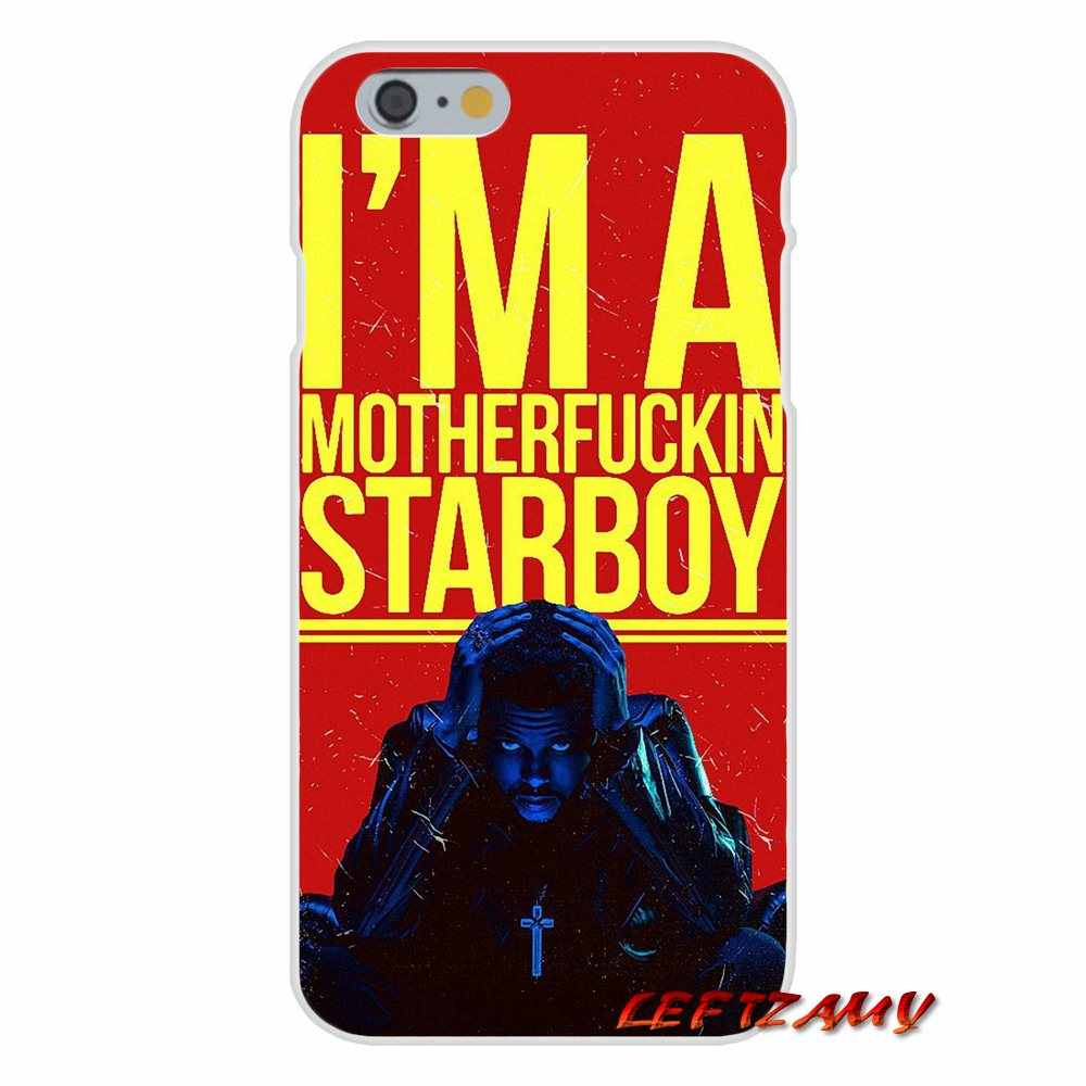 В стиле «хип-хоп» выходные дни Starboy Гибкая аксессуары телефон оболочки чехлы для Samsung Galaxy A3 A5 A7 J1 J2 J3 J5 J7 2015 2016 2017