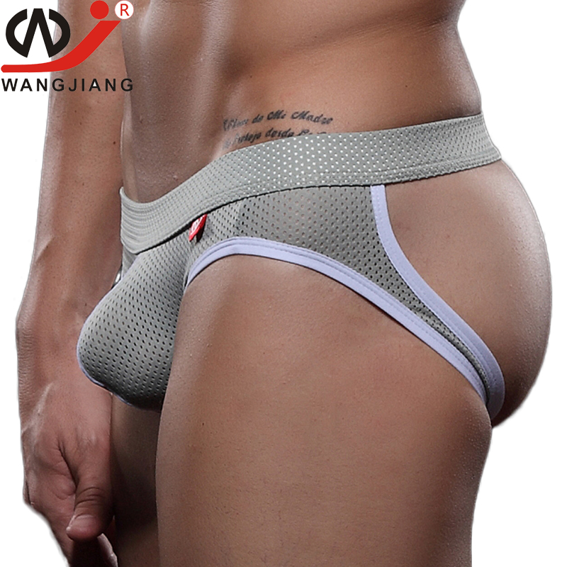Gay Men Underwear Sexy Transparent Slip Penis Briefs Cotton Thongs And G Strings Jockstrap Man Lingerie Erotic Cueca Gay Panties