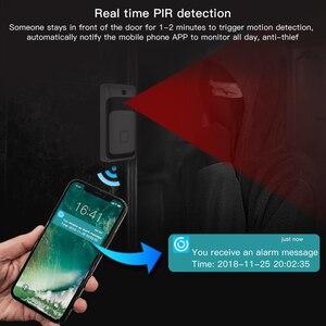 Image 2 - SDETER timbre de puerta inalámbrico, IP, Wifi, vídeo, cámara con visión nocturna, alarma PIR, cámara de seguridad, Android, IOS