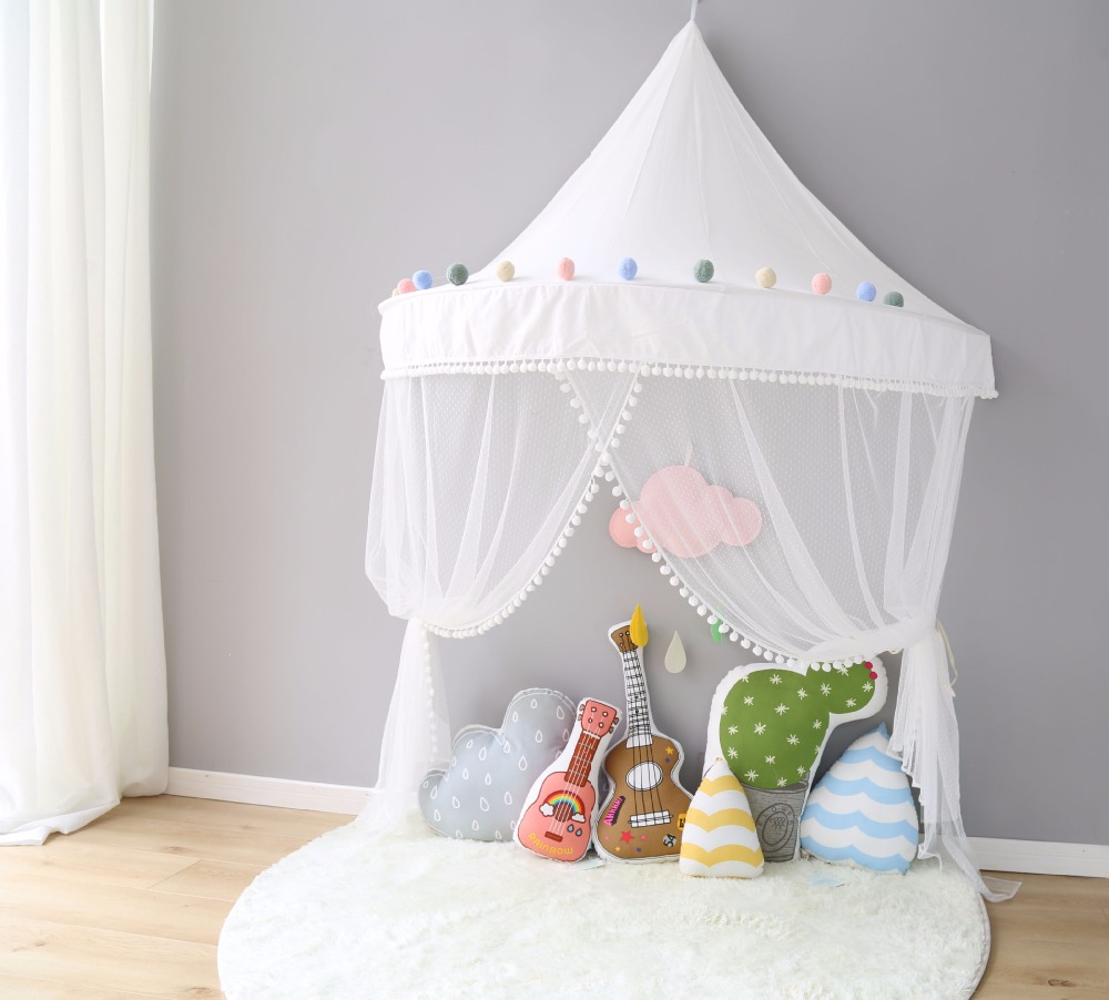 YARD KIDS Children Princess For Kids Play House Baby play house for children Bed Tent foldable play tent kids children boy girl castle cubby play house bithday christmas gifts outdoor indoor tents