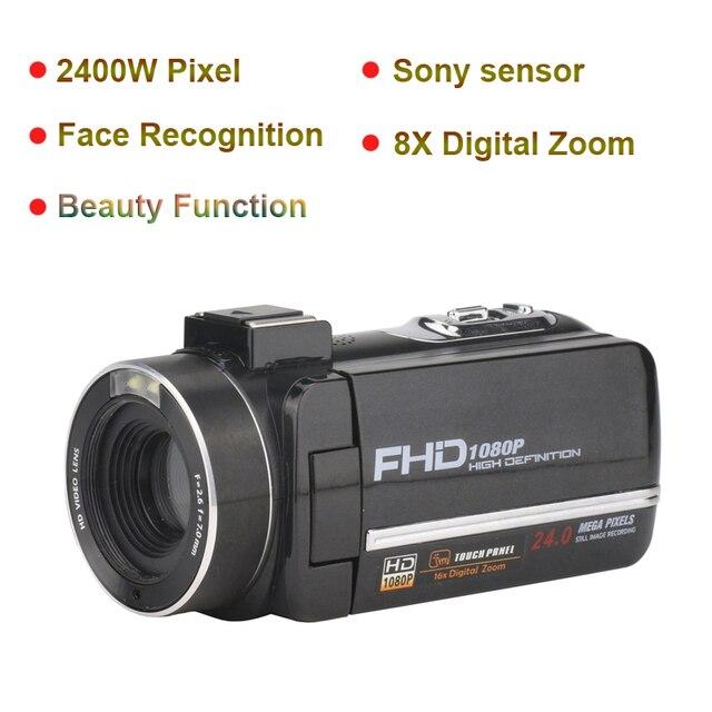 Komery Genuine Original DV-02 Video Camera 3.0 inch Touch Screen 2400w Pixel 8X Digital Zoom Support WiFi Three-year warranty 2