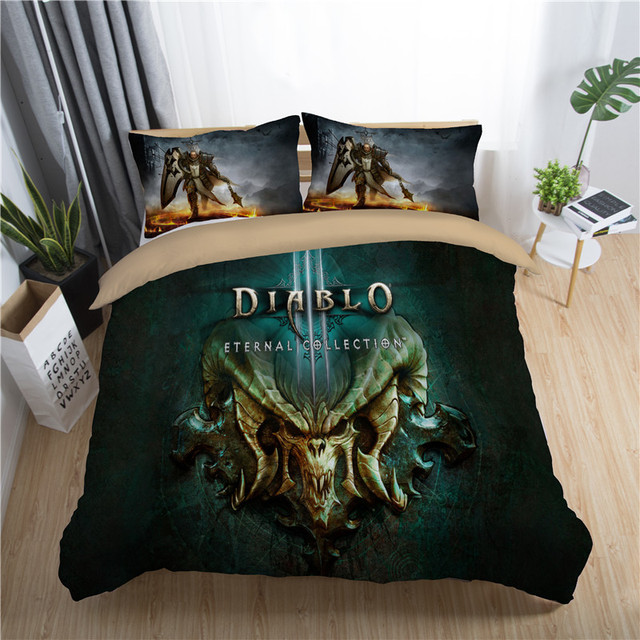 3D dragon ball bedding set king queen full single size duvet cover set