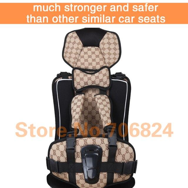 Портативный Детское Автокресло Детское Сиденье Безопасности Автокресло детская стулья в Автомобиль Обновленная Версия Утолщение Хлопка Детей Автомобиля мест