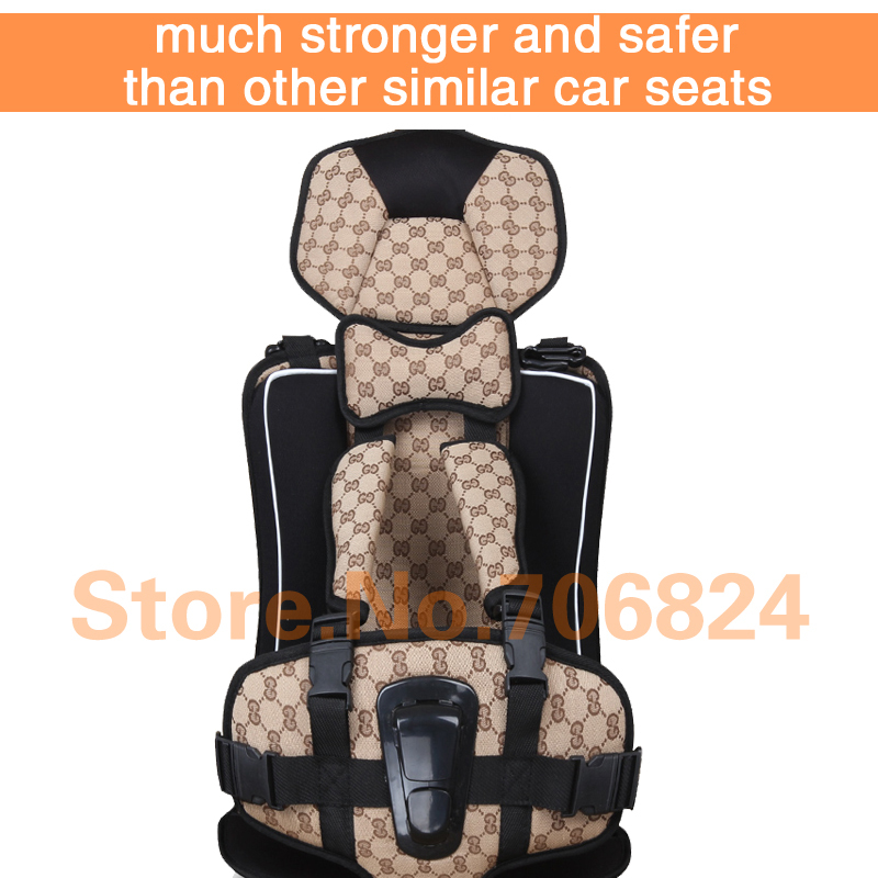 Portable Baby Car Seat Baby Safety Seat Car Seat Childrens Chairs in the Car Updated Version Thickening Cotton Kids Car Seats