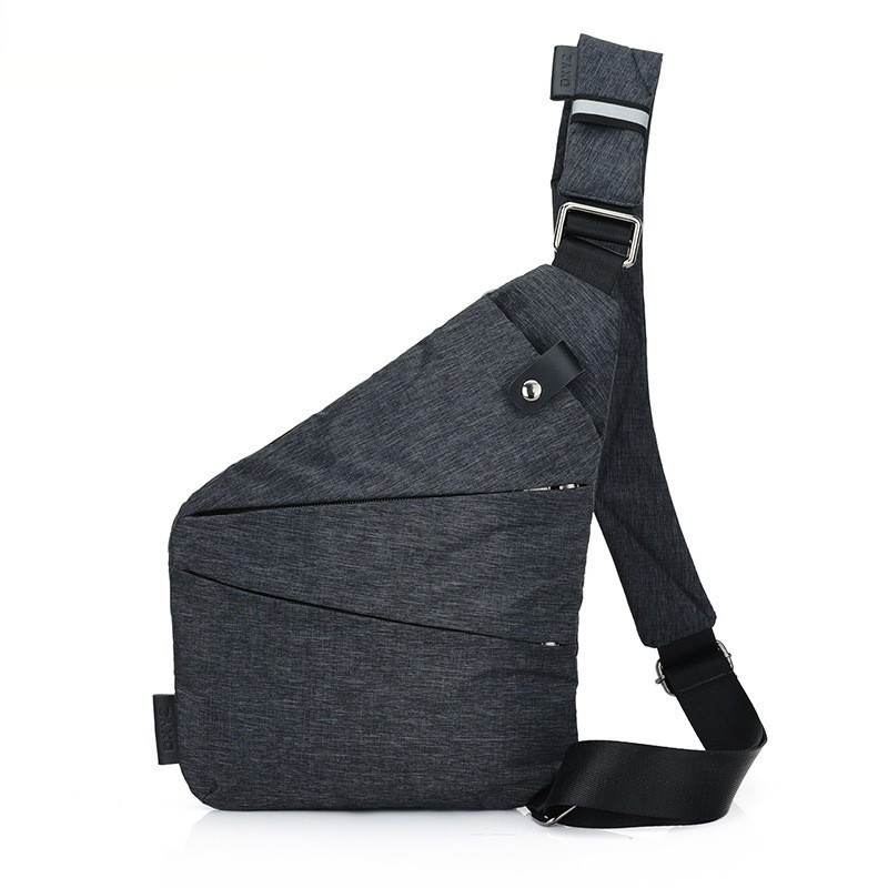LHLYSGS Brand Men Travel Business Burglarproof Shoulder Bag Anti Theft Security Holster Strap Digital Storage Chest Bags