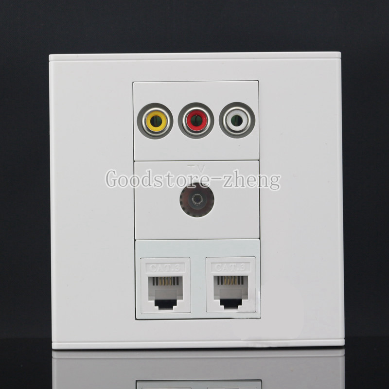 Wall Face Plate One Port XLR Outlet Socket Assorted Panel Faceplate