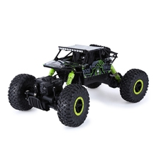 2016 New RC Cars 2.4Ghz 1:18 Scale Remote Control Rock Crawler 4 Wheel Drive Off-road Race Car Vehicle Toys Trunk Children Gifts