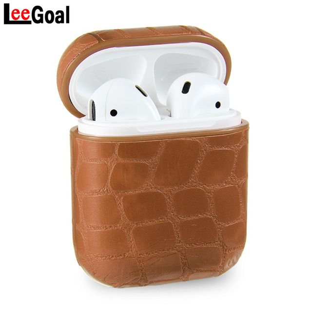 21 Stylish Leather AirPod Case Cover