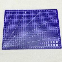 Бумажная craft резки линии ткани мат сетки доска кожи карты см