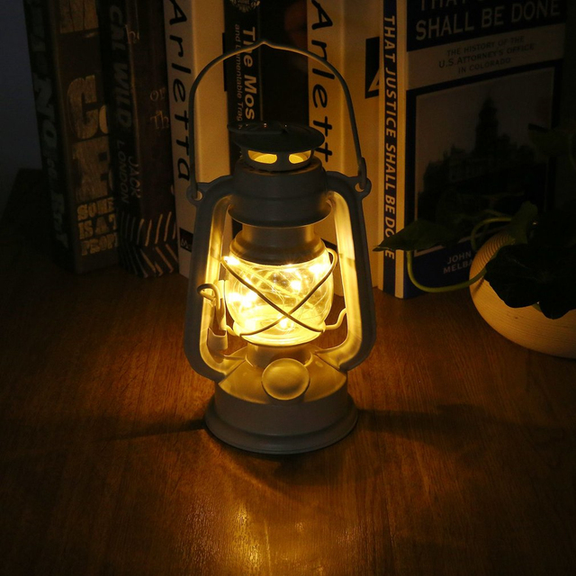 ICOCO Vintage Loft Industrial Lantern Kerosene Oil Pendant Lamp Fixture Droplights Horse Lamp for Aisle Dining Room Cafe Balcony